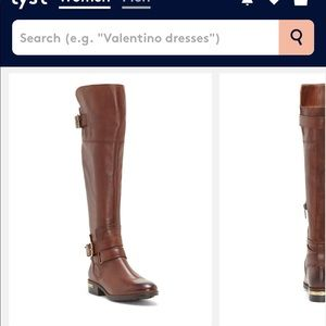 b4f490a56dc Vince Camuto Shoes - Vince Camuto Women s Brown Prestinta – Riding Boot